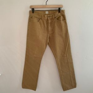 J. Crew Vintage Acorn Slim Straight Pants Jeans 30